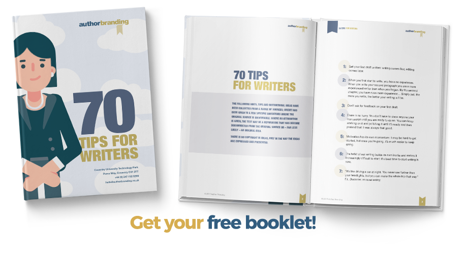 Download the 70 Tips for Writers document